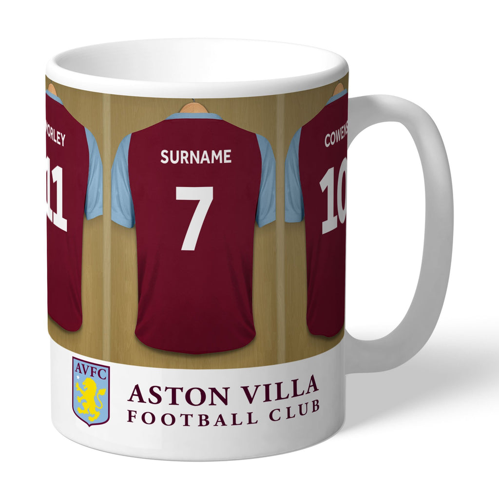 Aston Villa FC Legends Dressing Room Mug - Official Merchandise Gifts