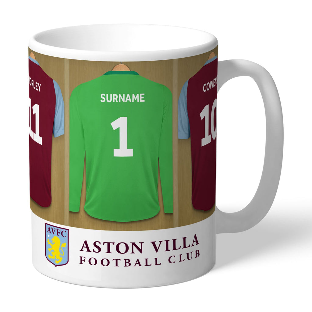 Aston Villa FC Legends Goalkeeper Dressing Room Mug - Official Merchandise Gifts