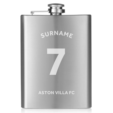 Aston Villa FC Shirt Hip Flask - Official Merchandise Gifts