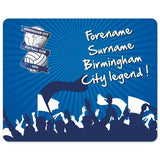 Birmingham City FC Legend Mouse Mat - Official Merchandise Gifts
