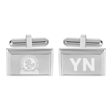 Blackburn Rovers FC Crest Cufflinks - Official Merchandise Gifts