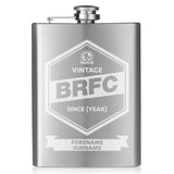Blackburn Rovers FC Vintage Hip Flask - Official Merchandise Gifts
