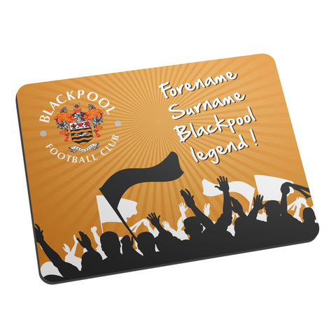 Blackpool FC Legend Mouse Mat - Official Merchandise Gifts