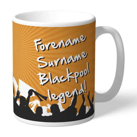 Blackpool FC Legend Mug - Official Merchandise Gifts