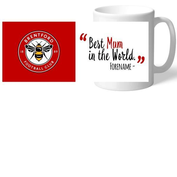 Brentford Best Mum In The World Mug - Official Merchandise Gifts