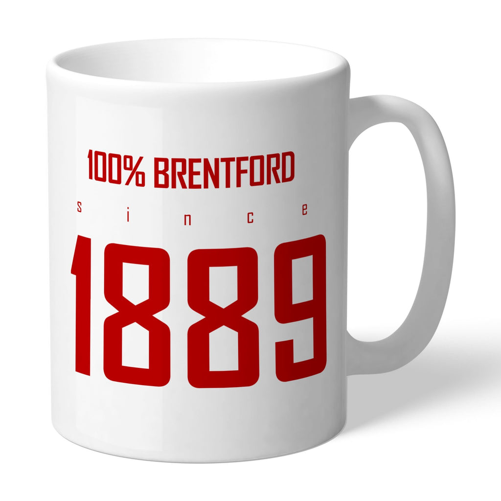 Brentford FC 100 Percent Mug - Official Merchandise Gifts
