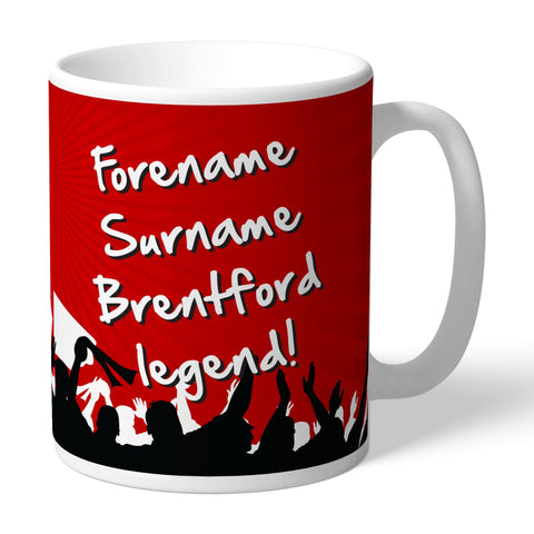 Brentford FC Legend Mug - Official Merchandise Gifts