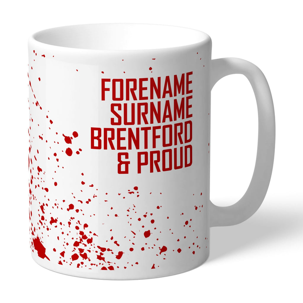 Brentford FC Proud Mug - Official Merchandise Gifts