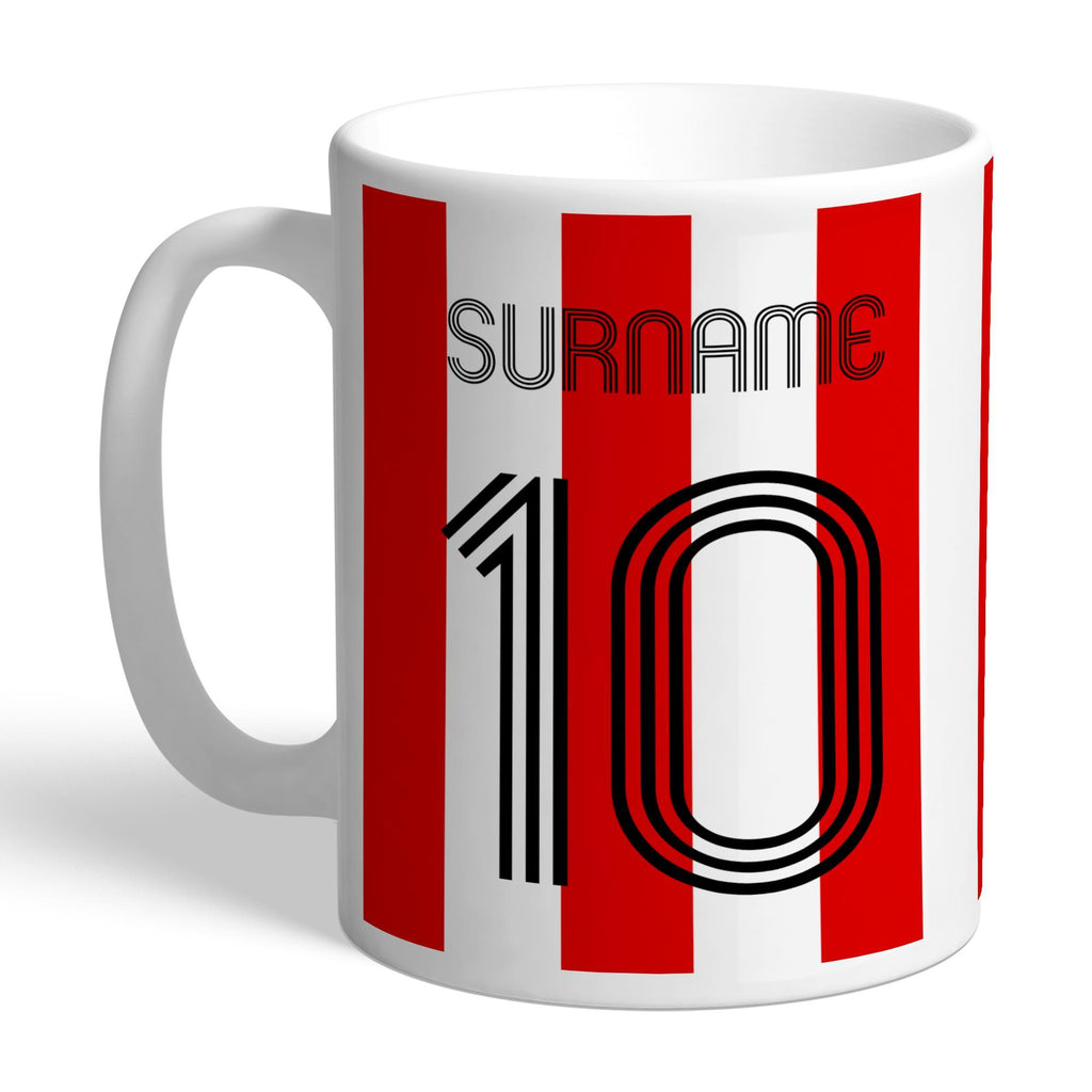 Brentford Retro Shirt Mug - Official Merchandise Gifts