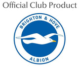 Brighton & Hove Albion FC Back of Shirt Insulated Water Bottle - White - Official Merchandise Gifts