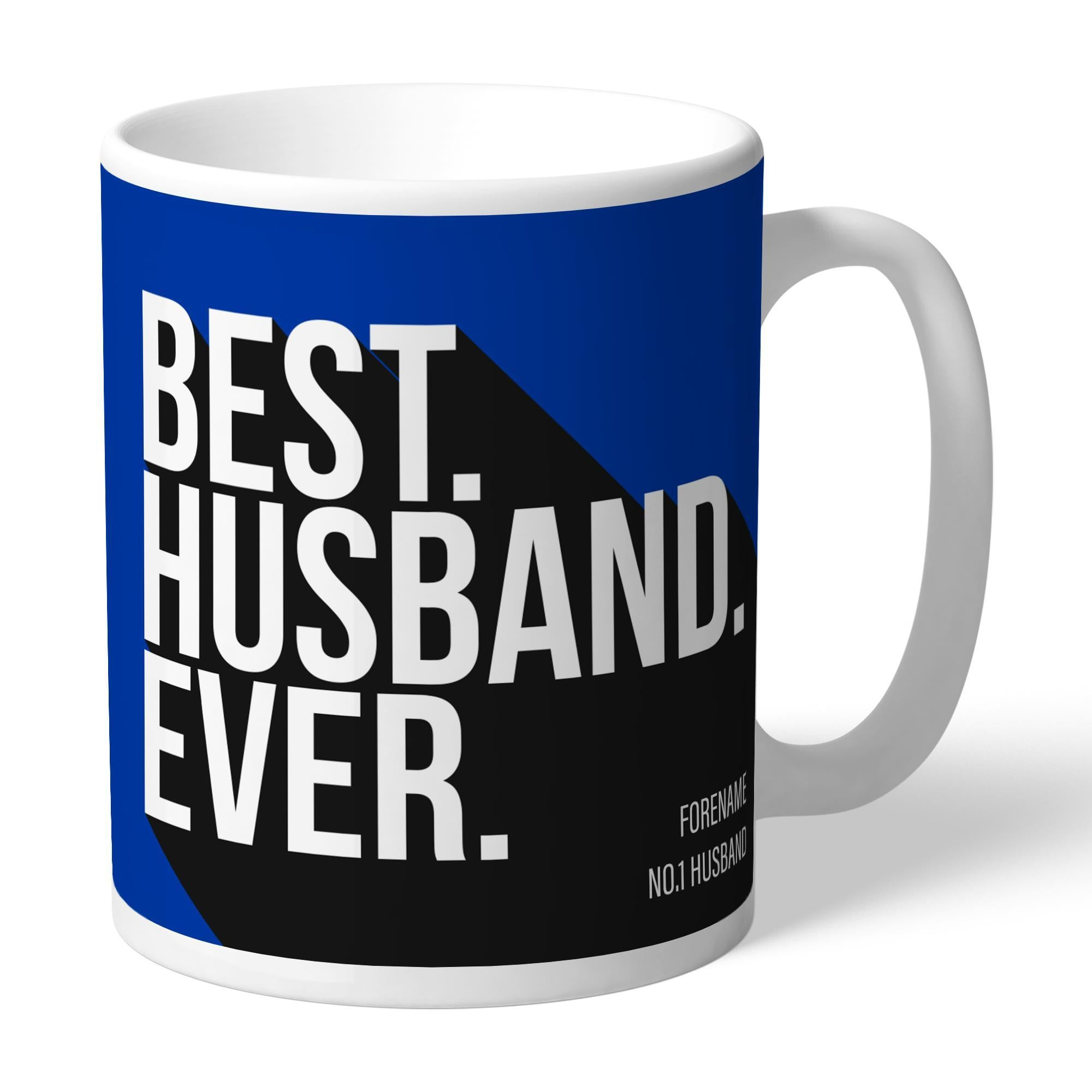 Personalised Brighton & Hove Albion FC Best Husband Ever Mug, Home & Garden by Glamorous Gifts