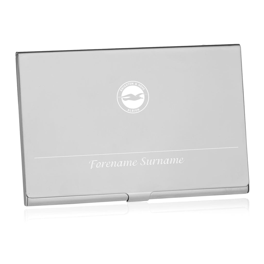 Brighton & Hove Albion FC Executive Business Card Holder - Official Merchandise Gifts