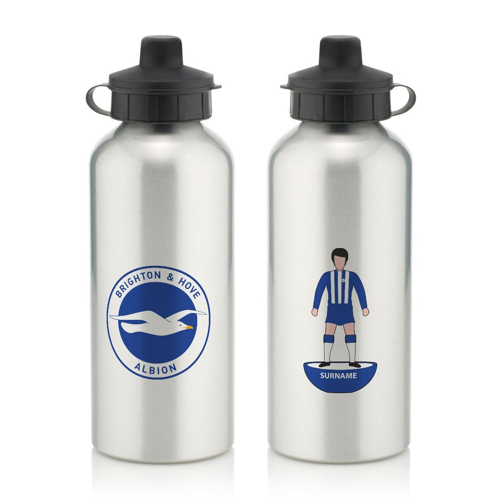 Brighton & Hove Albion FC Player Figure Water Bottle - Official Merchandise Gifts