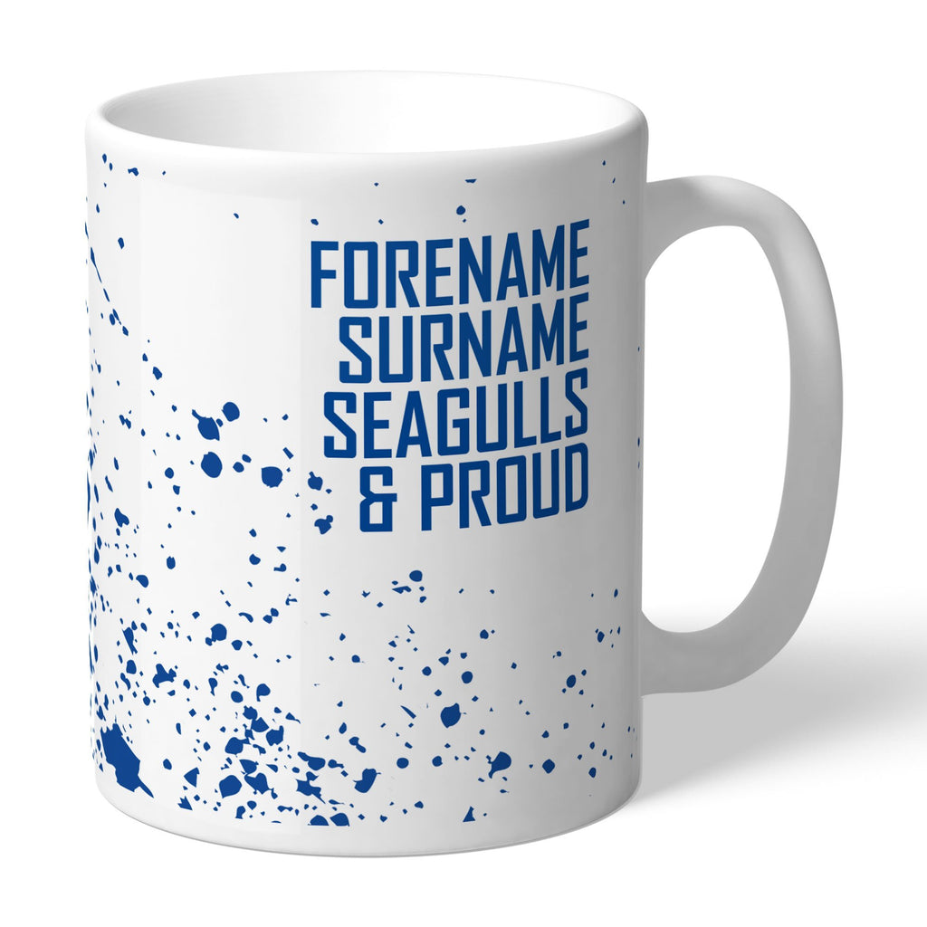 Brighton & Hove Albion FC Proud Mug - Official Merchandise Gifts