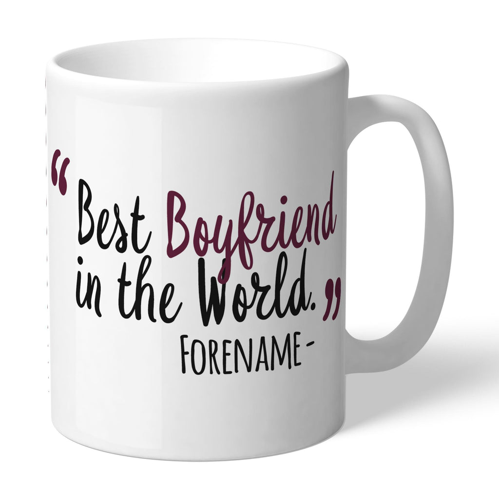 Burnley FC Best Boyfriend In The World Mug - Official Merchandise Gifts