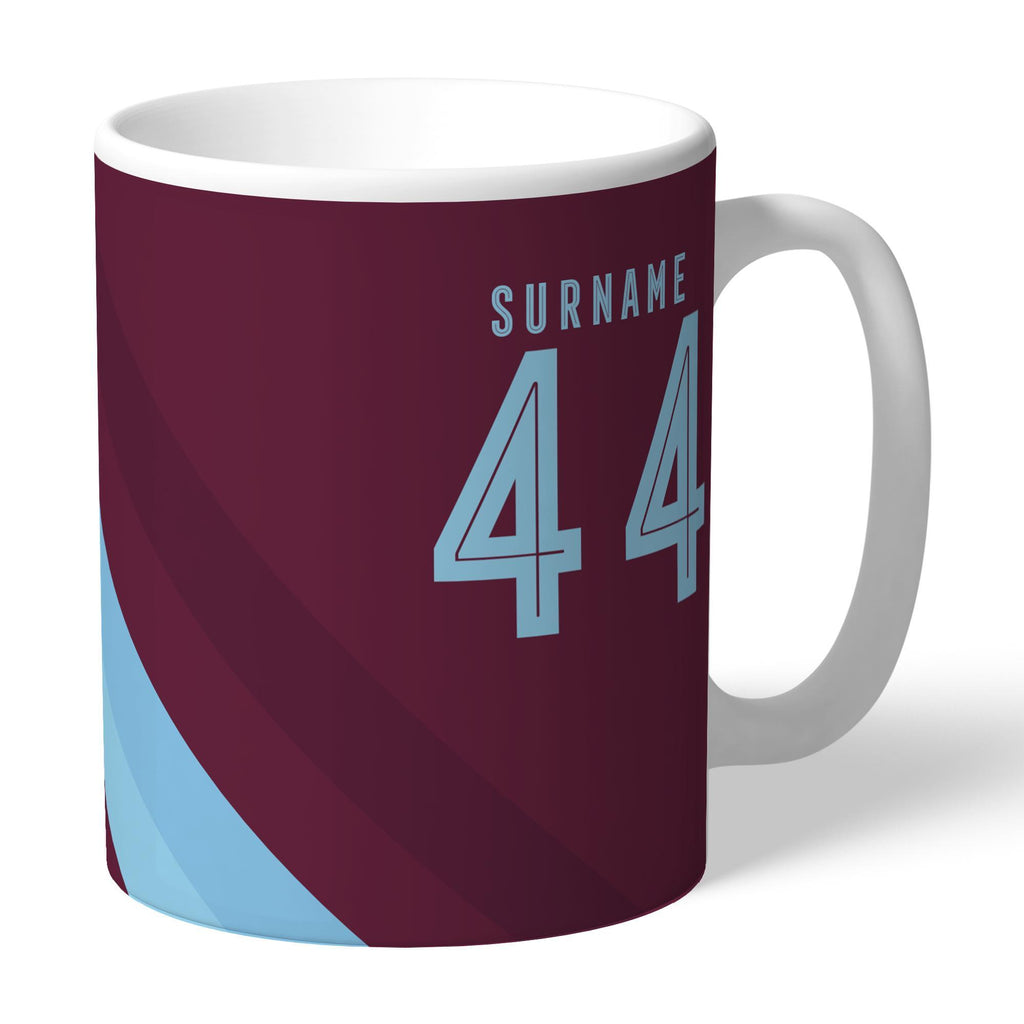 Burnley FC Stripe Mug - Official Merchandise Gifts