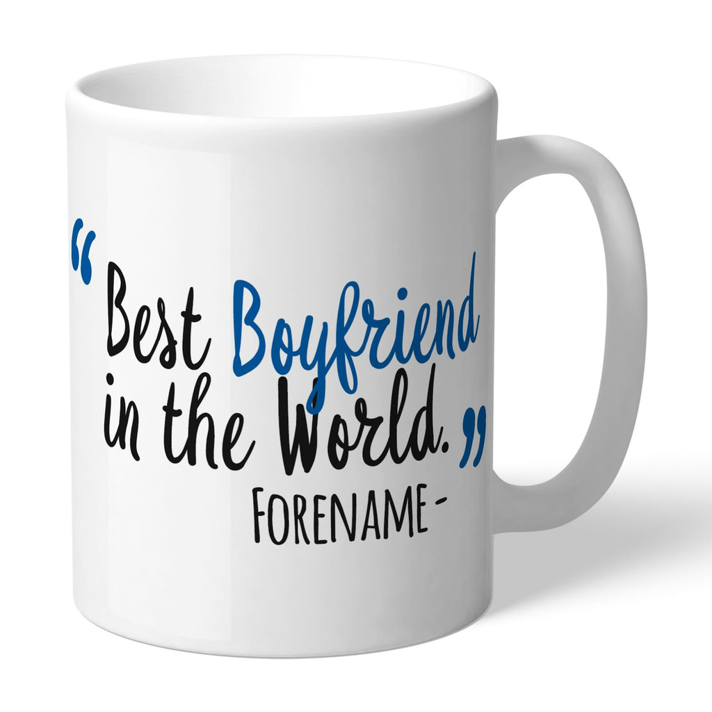 Cardiff City Best Boyfriend In The World Mug - Official Merchandise Gifts