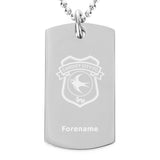 Cardiff City FC Crest Dog Tag Pendant - Official Merchandise Gifts
