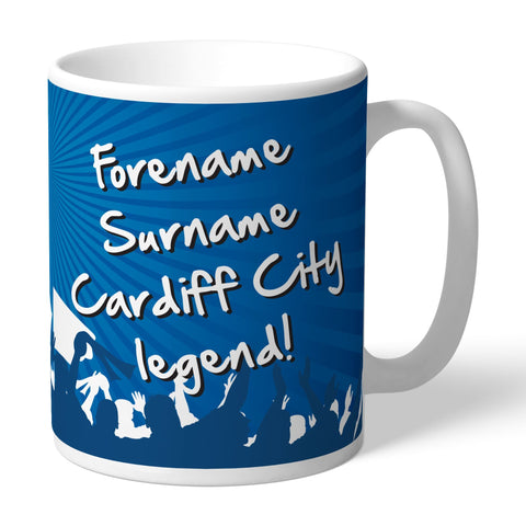 Cardiff City FC Legend Mug - Official Merchandise Gifts