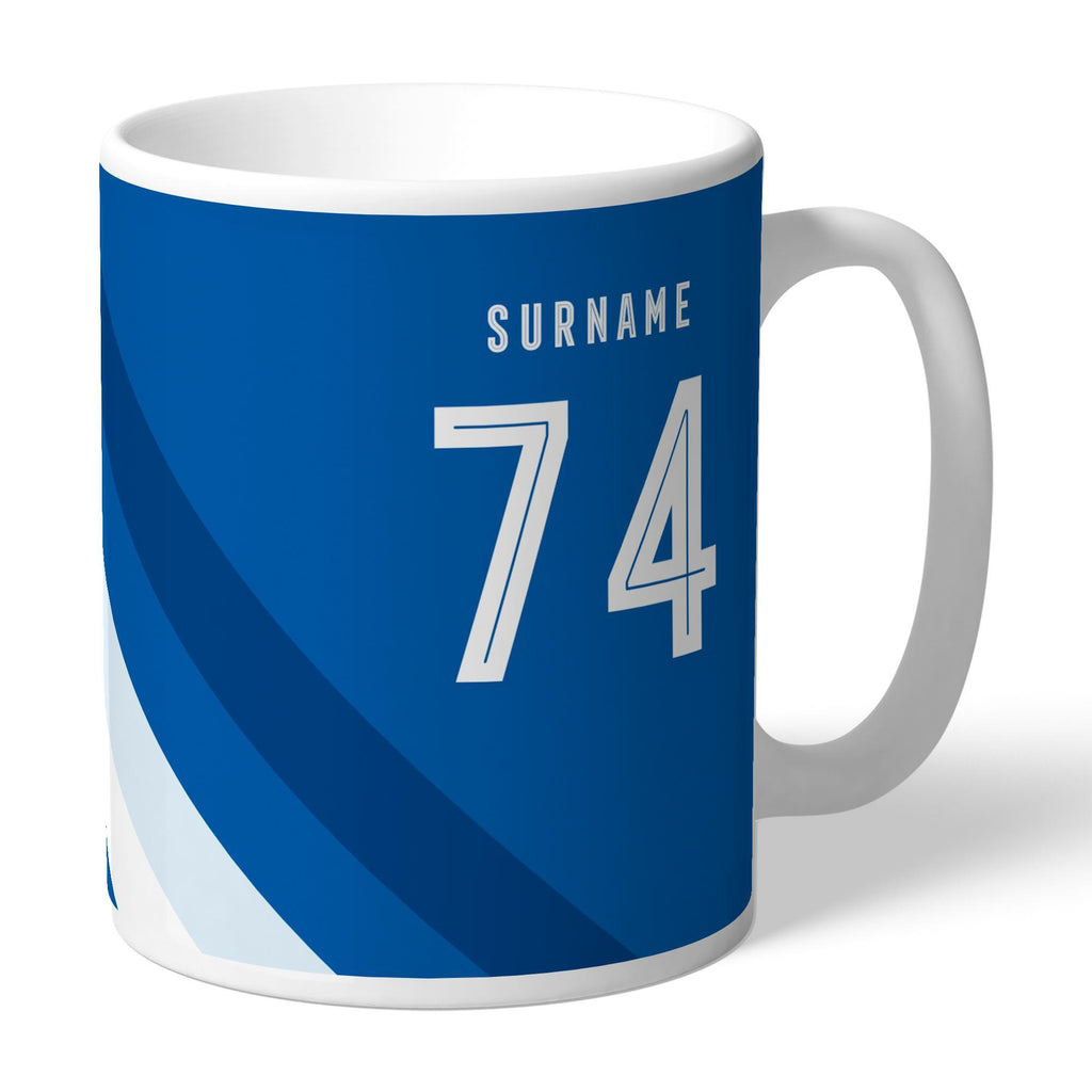Cardiff City Stripe Mug - Official Merchandise Gifts