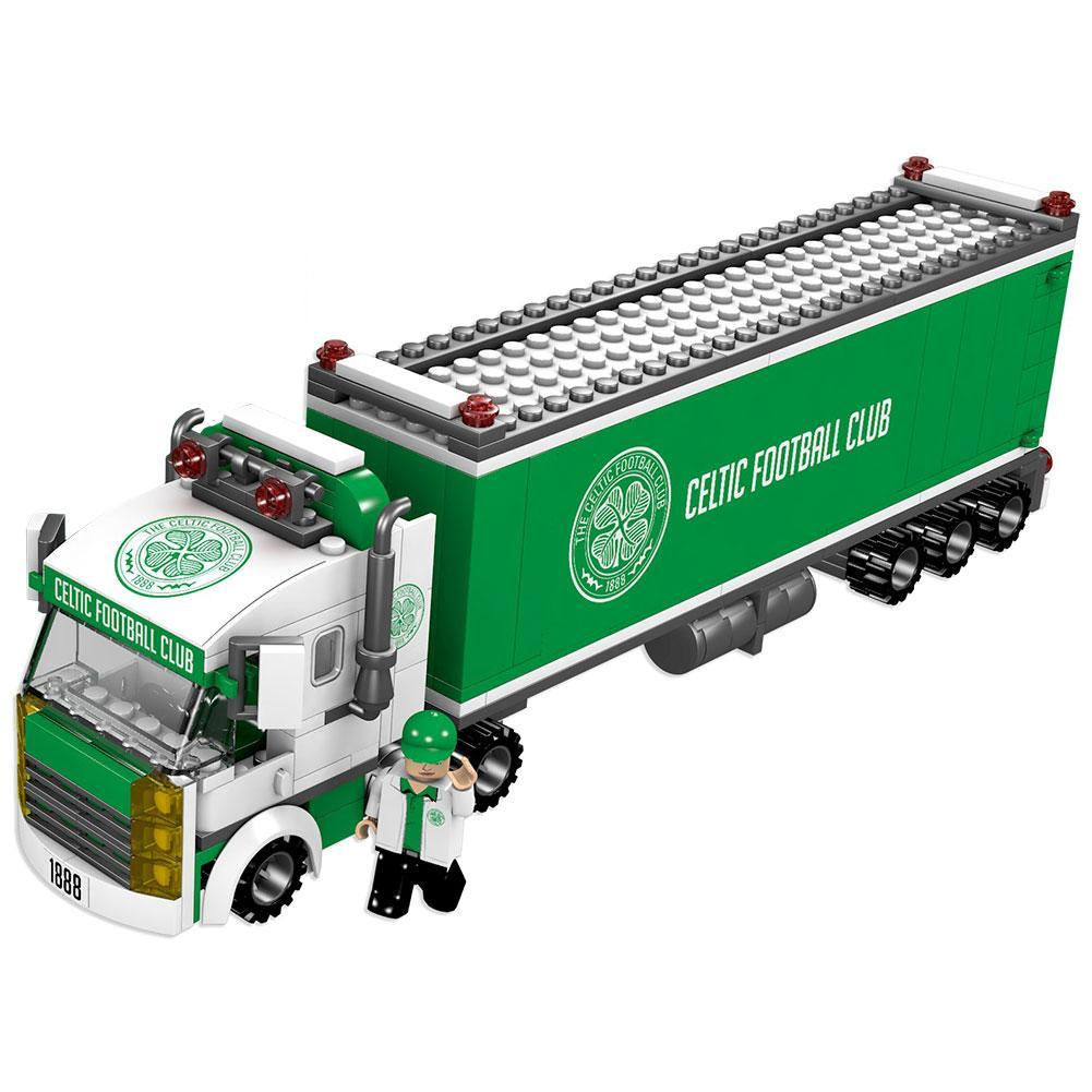 Celtic FC Brick Fan Truck, Collectables by Glamorous Gifts