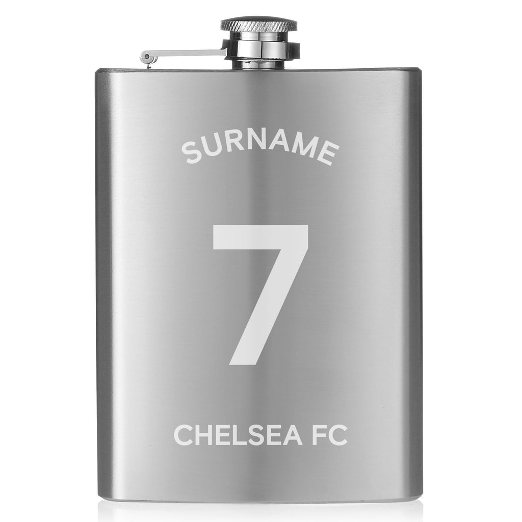 Chelsea FC Shirt Hip Flask - Official Merchandise Gifts