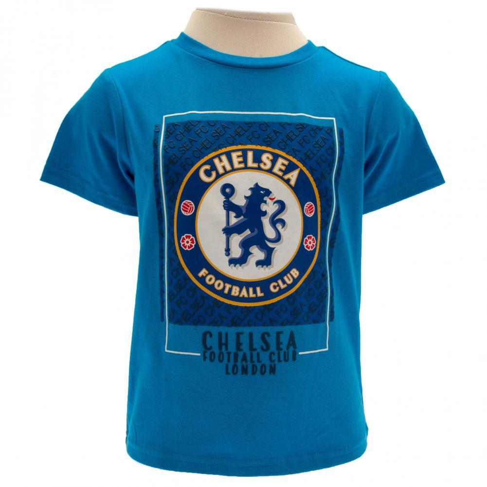 Chelsea FC T Shirt 6/9 mths BL, Clothing by Glamorous Gifts