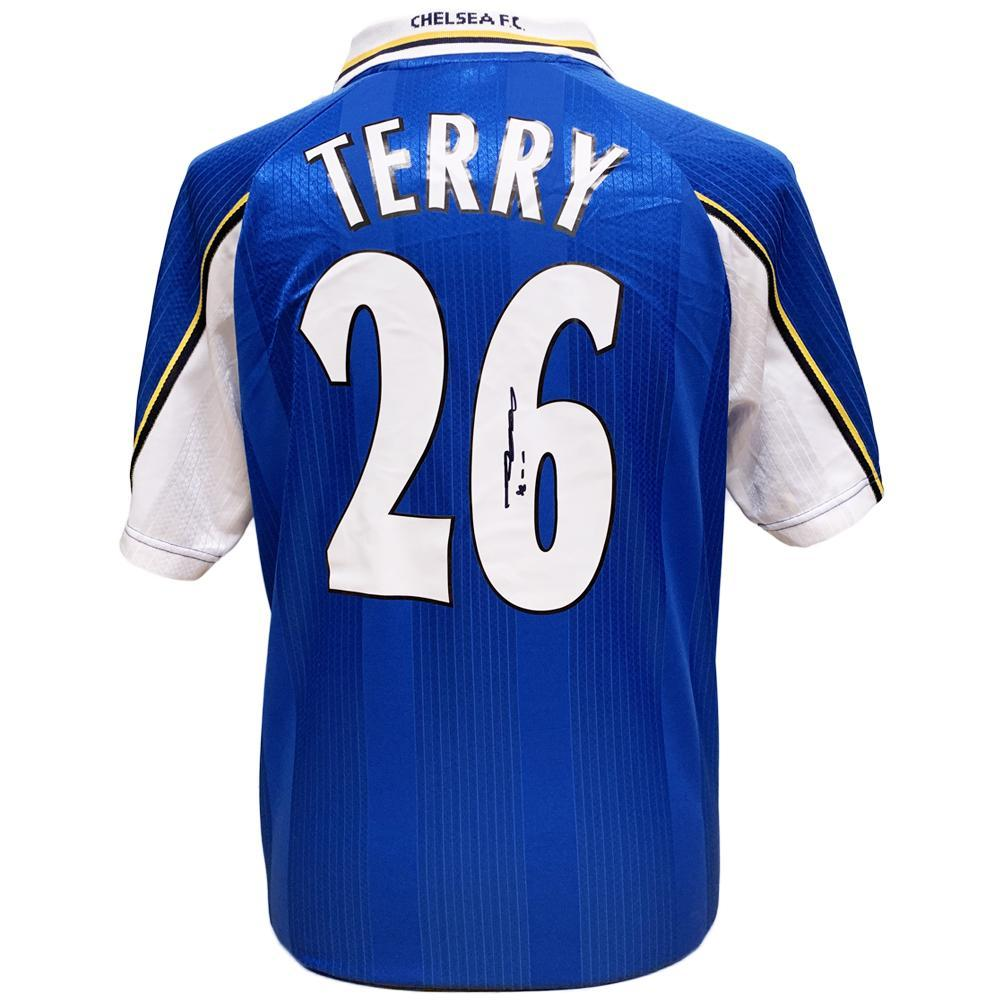 Chelsea FC Terry Signed Shirt, Autographed Sports Paraphernalia by Glamorous Gifts