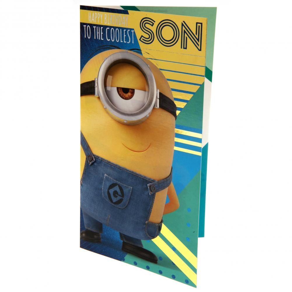 Despicable Me 3 Minion Birthday Card Son, Arts & Entertainment by Glamorous Gifts