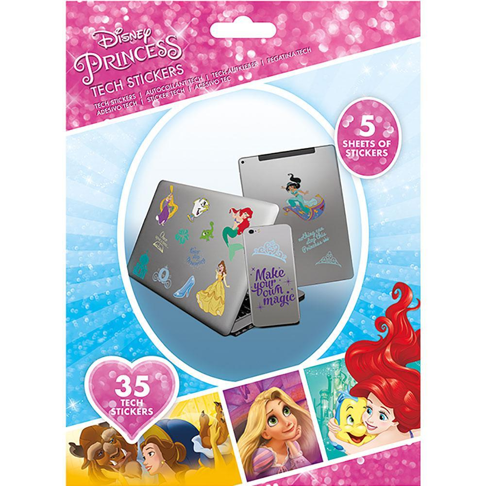 Disney Princess Tech Stickers, Art & Crafting Materials by Glamorous Gifts UK