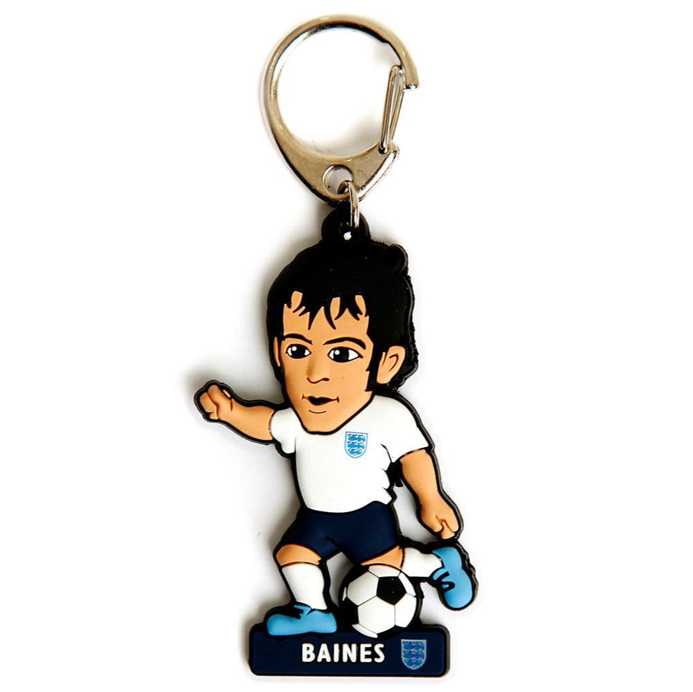 England FA PVC Keyring Baines, Clothing & Accessories by Glamorous Gifts