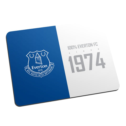 Everton FC 100 Percent Mouse Mat - Official Merchandise Gifts