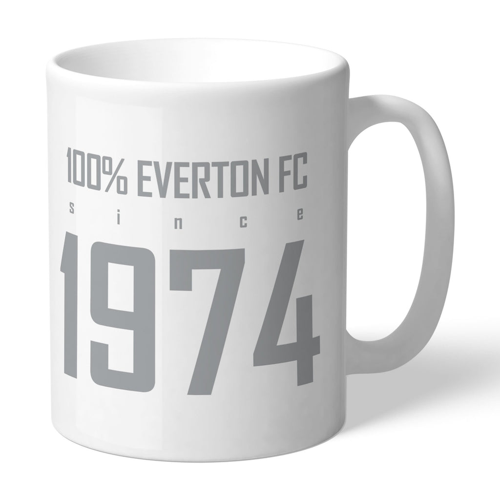 Everton FC 100 Percent Mug - Official Merchandise Gifts