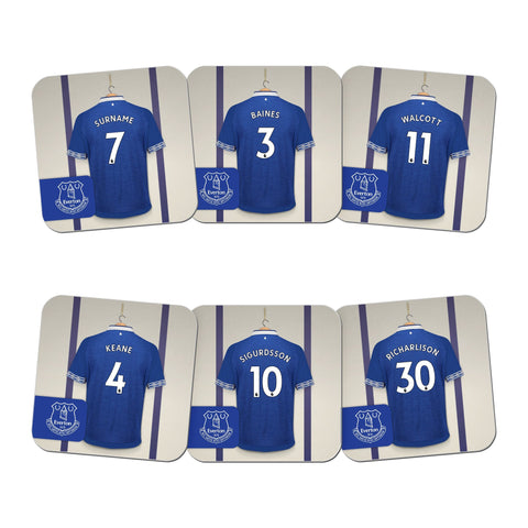 Everton FC Dressing Room Coasters - Official Merchandise Gifts