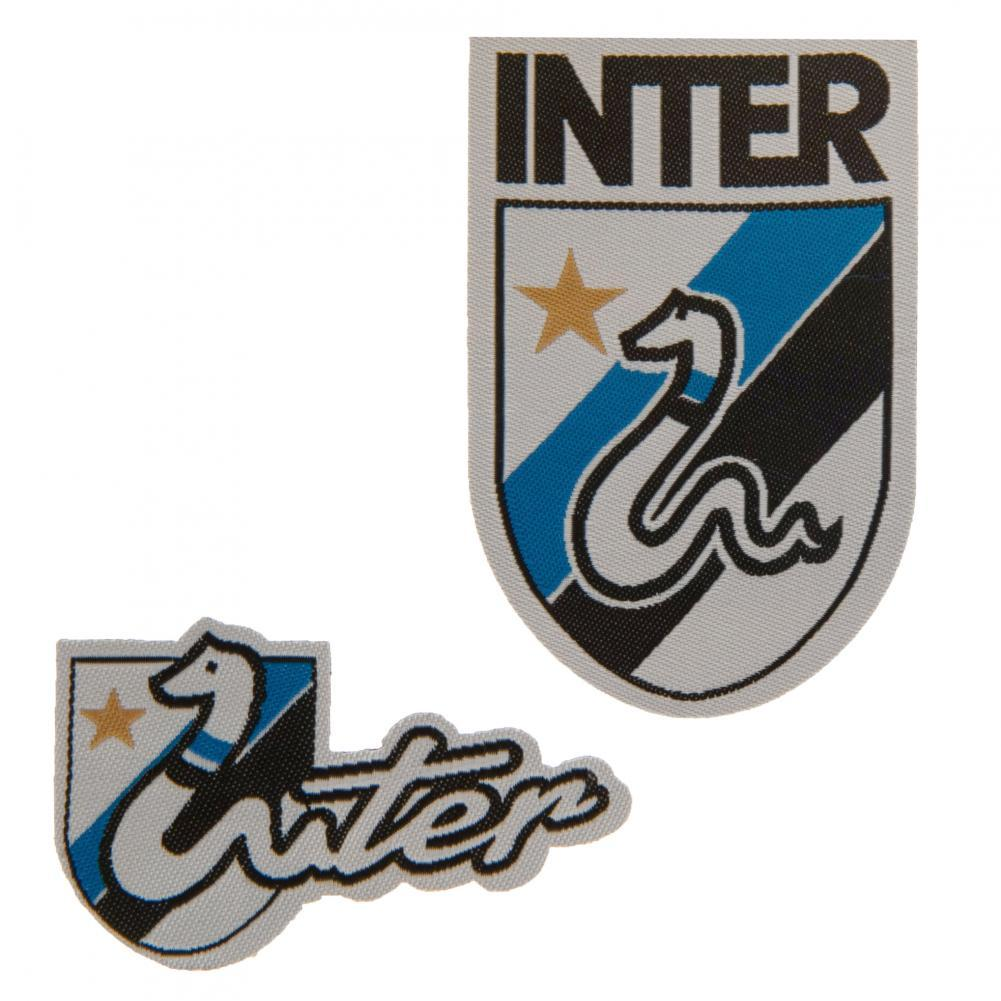 FC Inter Milan Twin Patch Set RT, Embellishments & Trims by Glamorous Gifts