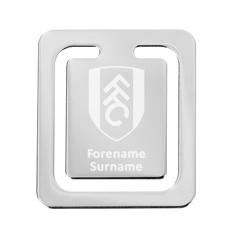 Fulham FC Crest Bookmark - Official Merchandise Gifts