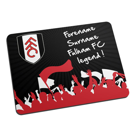 Fulham FC Legend Mouse Mat - Official Merchandise Gifts