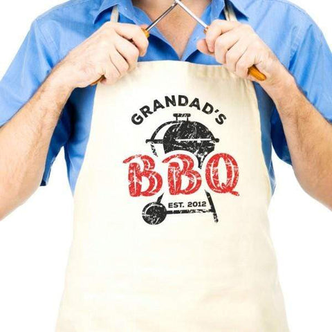 Grandad's BBQ Personalised Apron - Official Merchandise Gifts