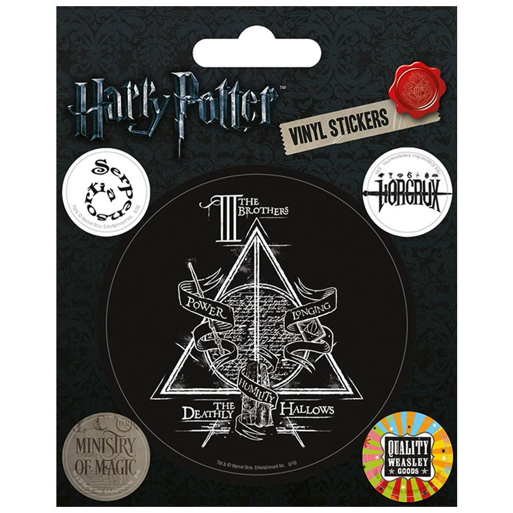 Harry Potter Stickers Deathly Hallows, Decorative Stickers by Glamorous Gifts