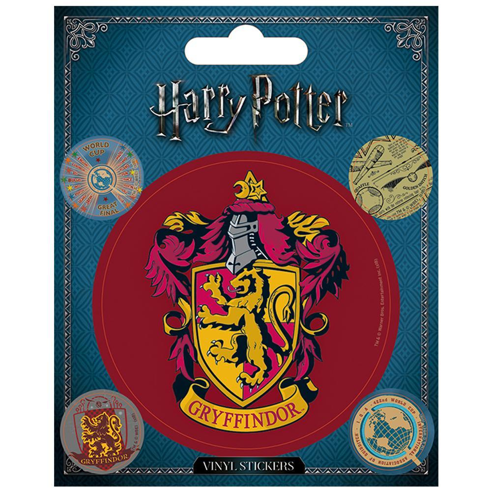Harry Potter Stickers Gryffindor, Decorative Stickers by Glamorous Gifts