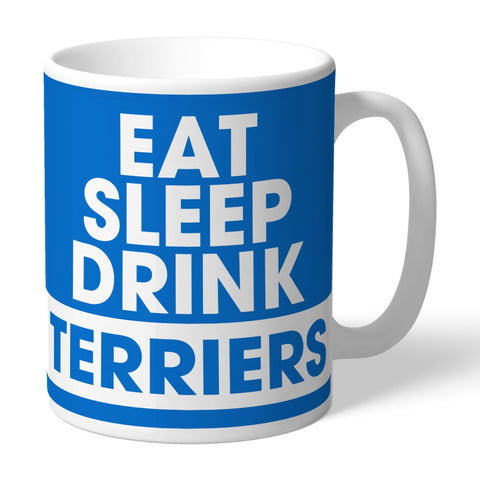 Huddersfield Town Eat Sleep Drink Mug - Official Merchandise Gifts