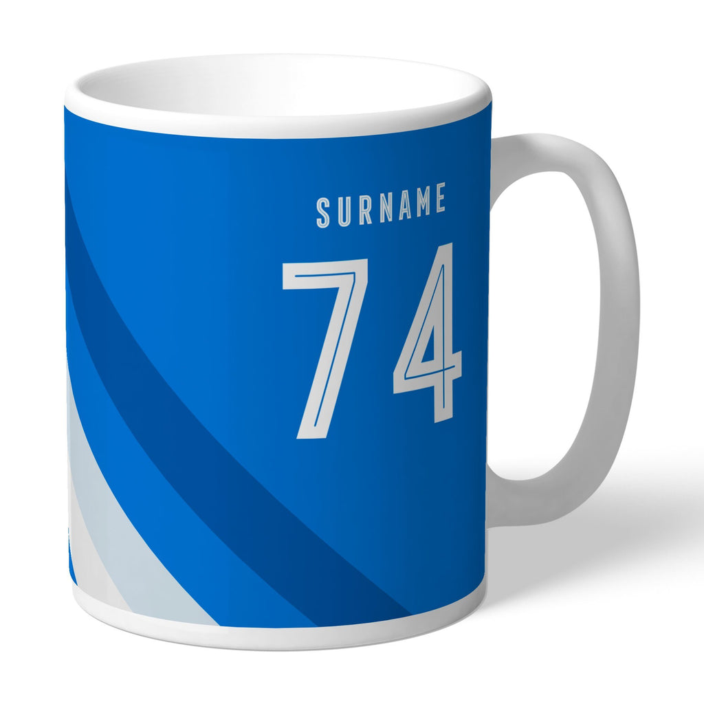 Huddersfield Town Stripe Mug - Official Merchandise Gifts