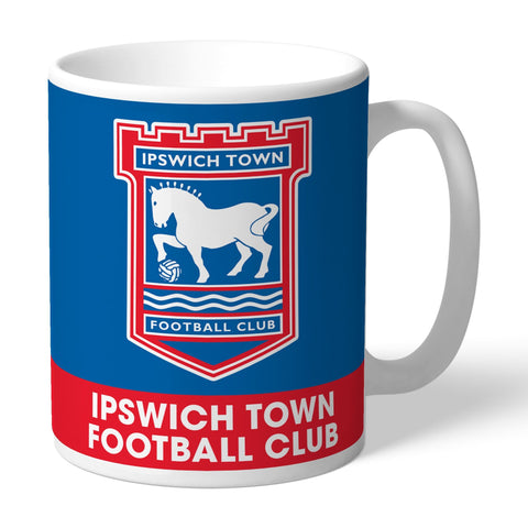 Ipswich Town FC Bold Crest Mug - Official Merchandise Gifts