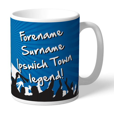 Ipswich Town FC Legend Mug - Official Merchandise Gifts