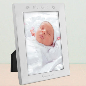 It's A Baby Girl Photo Frame - Official Merchandise Gifts