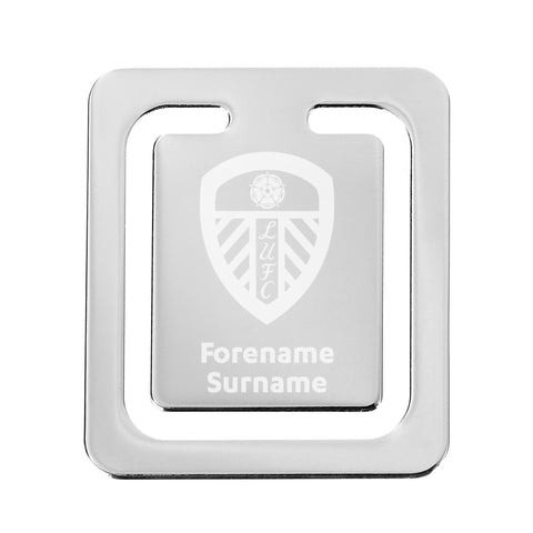 Leeds United FC Crest Bookmark - Official Merchandise Gifts
