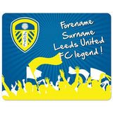 Leeds United FC Legend Mouse Mat - Official Merchandise Gifts