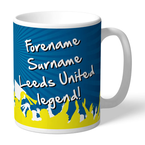 Leeds United FC Legend Mug - Official Merchandise Gifts