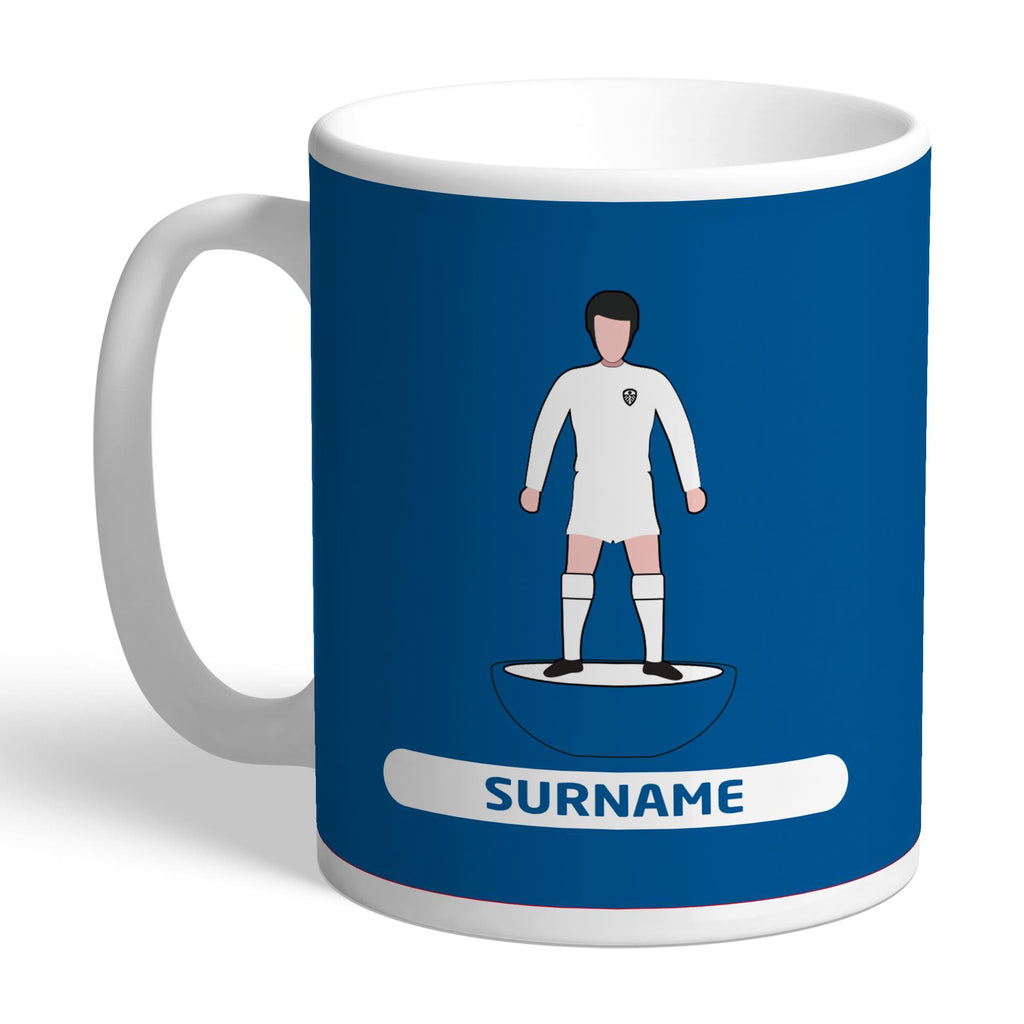 Leeds United FC Player Figure Mug - Official Merchandise Gifts