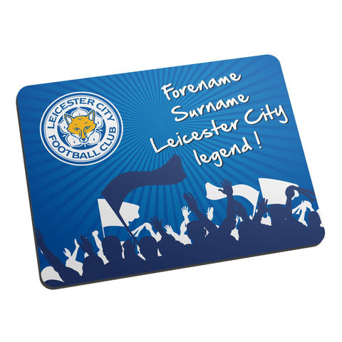 Leicester City FC Legend Mouse Mat - Official Merchandise Gifts